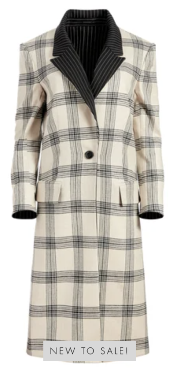 Alice & Olivia Reversible Coat